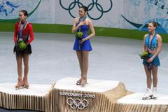 バンクーバー・オリンピック表彰式